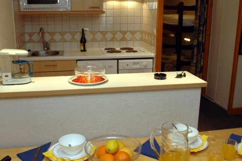 The kitchenette of Val Claret, Studio Apartment - Sleeps 4 - Tignes