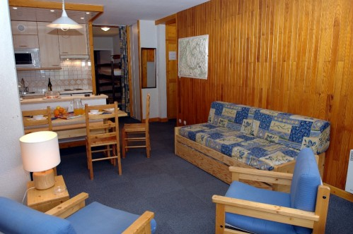 Val Claret, 1 Bedroom, Sleeps 6 - Tignes