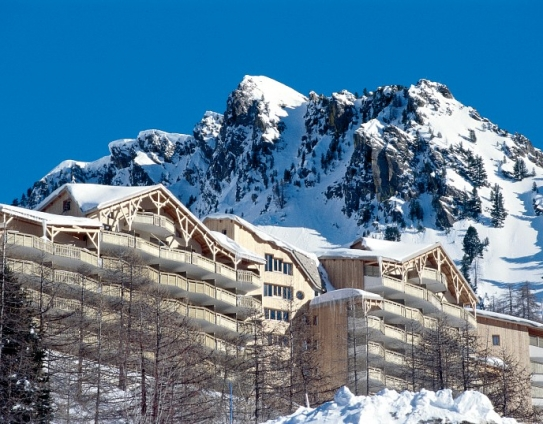 Ski Accommodation and Mountain View-Les Terrasses d'Azur-Isola 2000-France