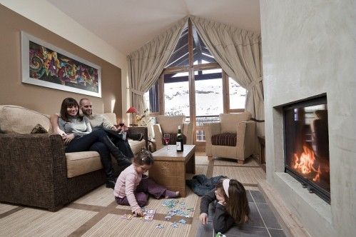 Superior Sitting Room, Pierre & Vacances Premium Les Terrasses d'Eos, Flaine