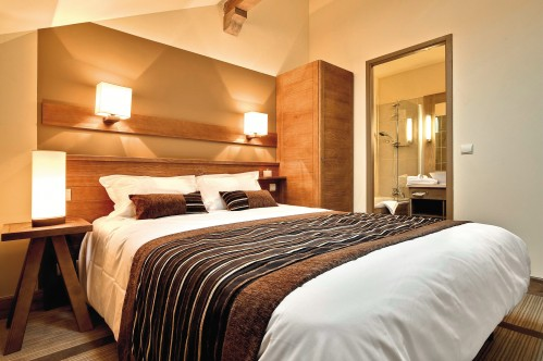 Superior Bedroom with double bed, Pierre & Vacances Premium Les Terrasses d'Eos, Flaine