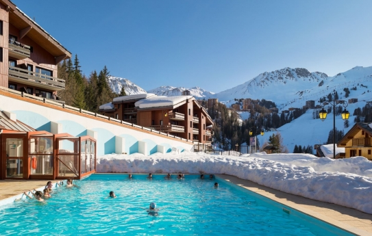 Swimming pool-Plagne Lauze-Plagne 1800-France