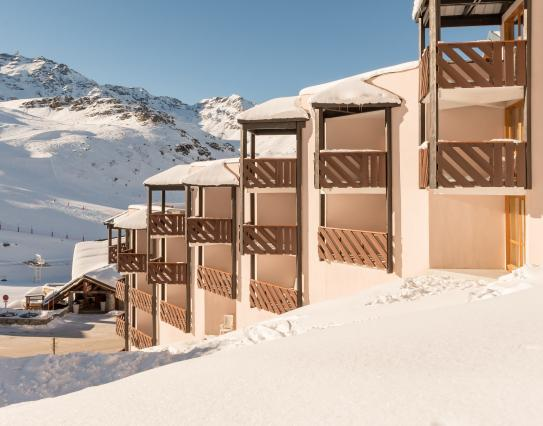 Ski Slope Accommodation-Le Tikal-Val Thorens-France