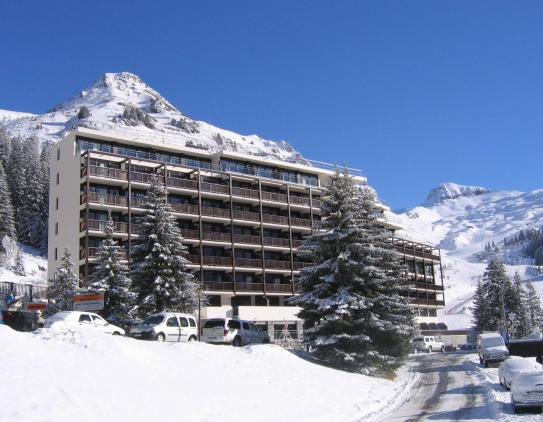 Les Terrasses de Veret, right by the ski slopes in Flaine