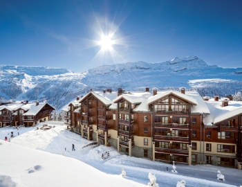 high quality apartment, Flaine, Pierre & Vacances Premium Les Terrasses d'Eos
