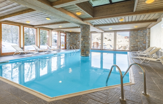 Swimming Pool - Residence Aspen - La Plagne