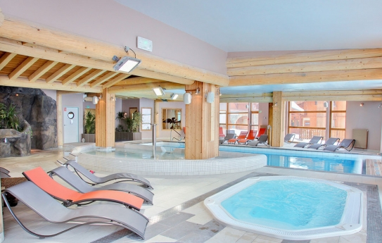 Spa and Swimming Pool - Les Balcons de Val Thorens