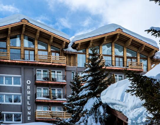 Hotel Ormelune - Exterior - Val d'Isere; Copyright: Gilles TRILLARD