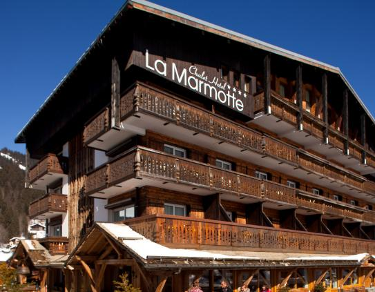 Hotel La Marmotte in Les Gets