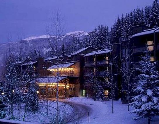 The Tantalus Hotel in Winter - Whistler - Canada