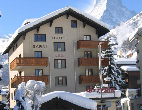 Outside View - Hotel Elite - Zermatt