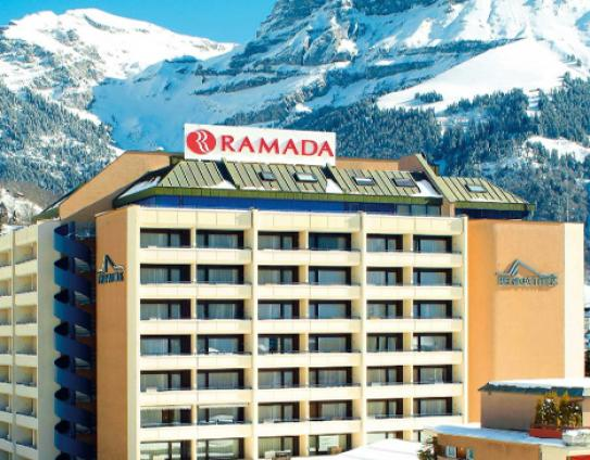 Outside View - Ramada hotel Regina Titlis - Engelberg