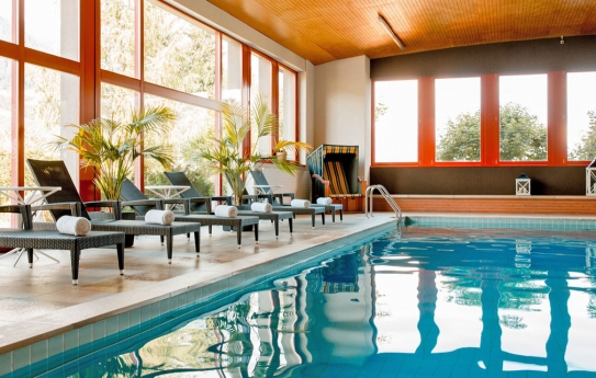 Indoor Swimming Pool - Hotel Sport - Klosters