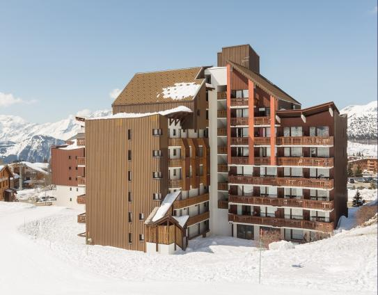 Accommodation Exterior-Les Melezes-Alpe d'Huez-France