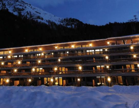 The Nira Alpina in St Moritz; Copyright: Nira Alpina