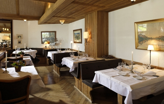 Restaurant at Hotel Alpenrose - Wengen - Switzerland
