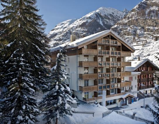 The Exterior of Hotel Holiday - Zermatt - Switzerland