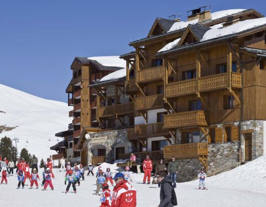 The Exterior of Residence Cimes - Belle Plagne - La Plagne - France