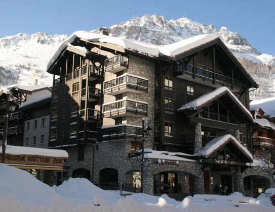 Hotel Avenue Lodge Val d'Isere Exterior View