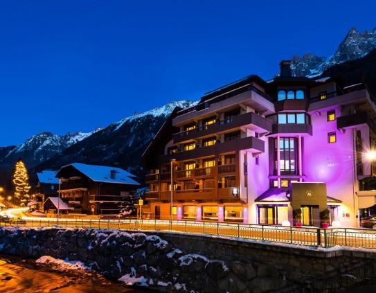 Chamonix ski accommodation hotels powderbeds for Boutique skihotel