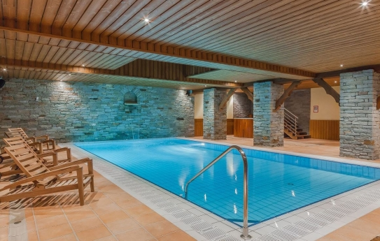 Swimming Pool and Spa - Les Balcons de Belle Plagne
