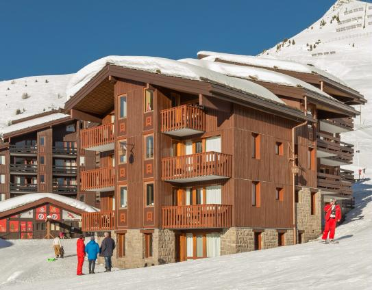 Ski Slopes and Accomodation - Beryl-Emeraude - Belle Plagne; Copyright: Imagera