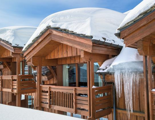 Les Chalets du Forum-Courchevel-France; Copyright: Imagera