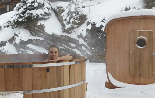 Hotel-des-Dromonts Avoriaz Hot tub