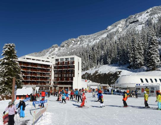 Le Panoramic, Flaine, Exterior