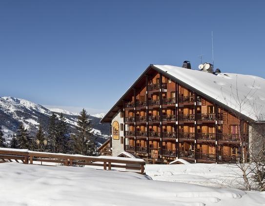 meribel ski accommodation hotels powderbeds