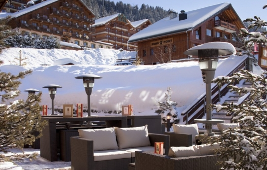 Le Grand Chalet des Pistes Meribel Terrace