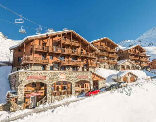 An exterior view of Les Chalets de Rosael - Val Thorens; Copyright: Temmos