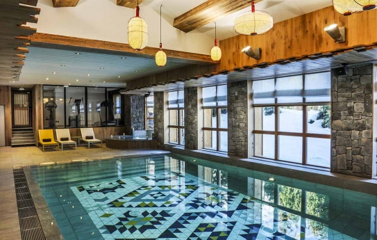 Spa and Swimming pool at Hotel le Yule - Val d'Isere