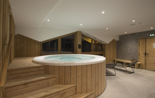 Hot tub jacuzzi Hotel L'Avancher Val d'Isere