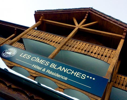 Hotel les Cimes Blanches Courchevel 1650; Copyright: Hotel les Cimes Blanches