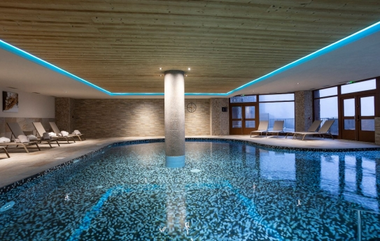 Residence Daria-I Nor swimming pool; Copyright: Chalet des Neiges