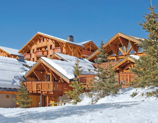 Ski Accommodation-Les Alpages de Reberty-Les Menuires-France; Copyright: Imagera