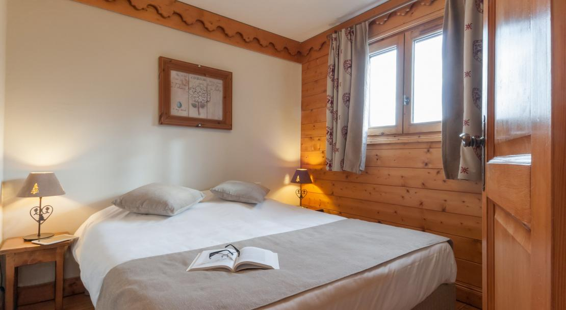 Double Bedroom at Les Fermes de Meribel