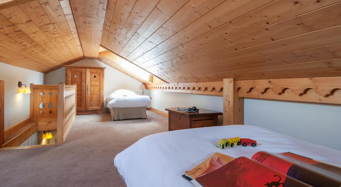 Twin Beds at Les Fermes de Meribel