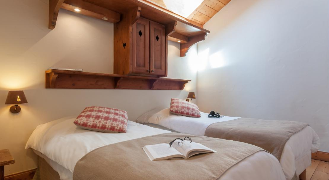 Twin Beds Les Fermes de Meribel