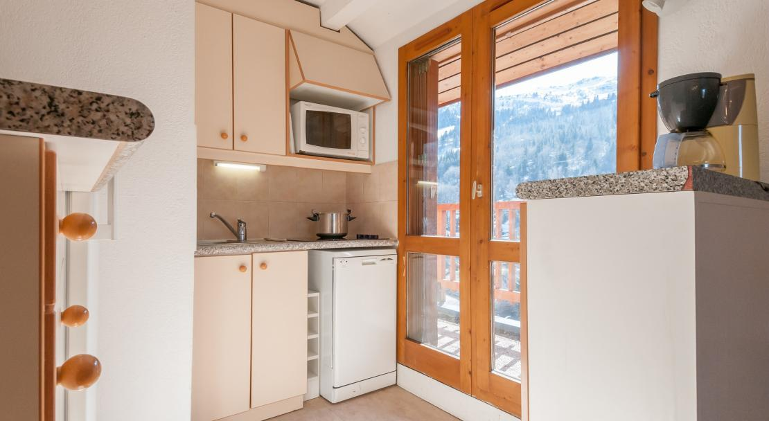 Kitchen in Les Ravines Meribel