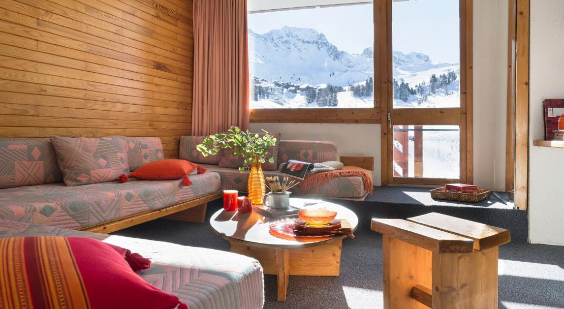 Apartment with Balcony Bellecote La Plagne