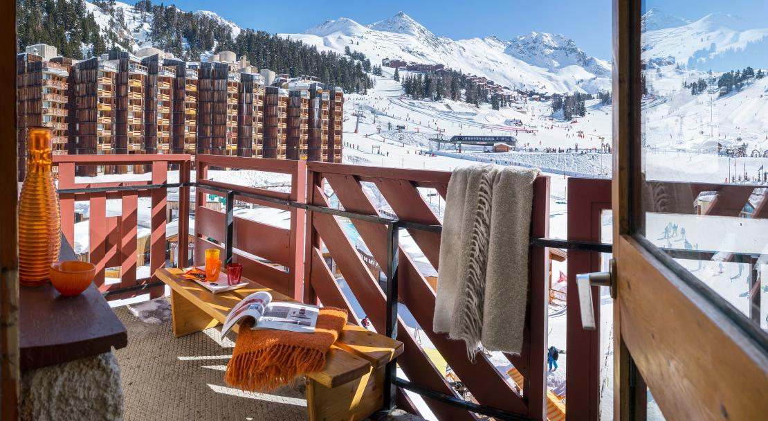 Balcony Bellecote La Plagne