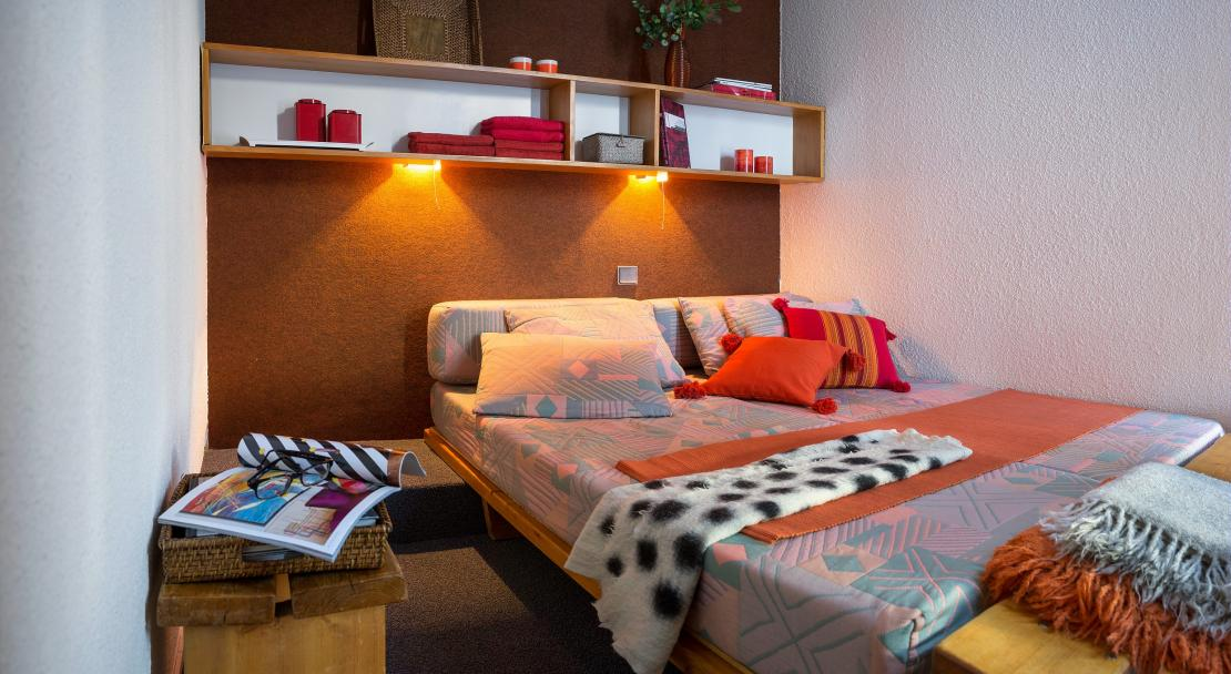 Bellecote, La Plagne, Double Bedroom
