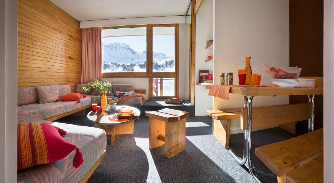 Living area Bellecote La Plagne