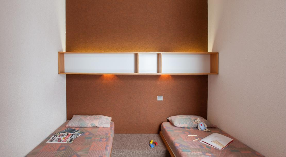 Twin Beds Bellecote La Plagne