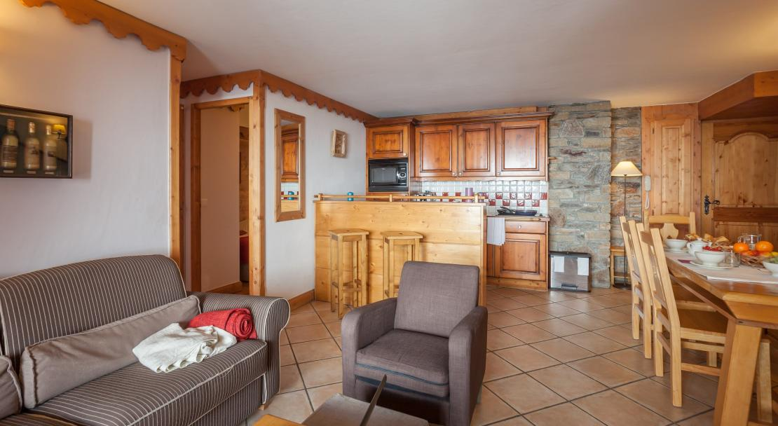 Apartment at L'Ecrin des Neiges Tignes