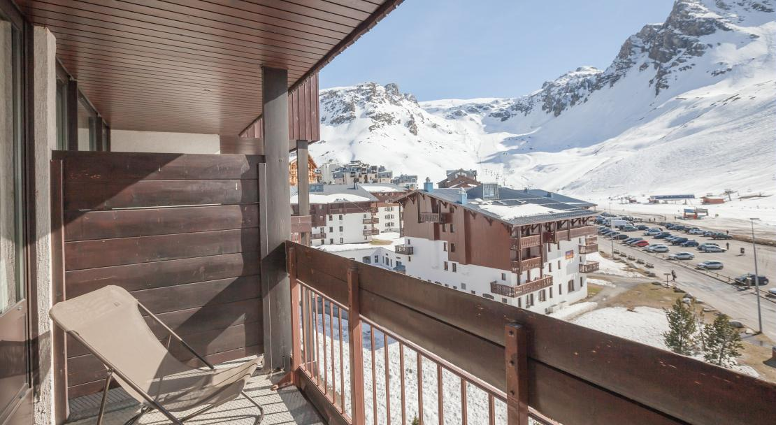 Inter-Residences, Tignes, Balcony