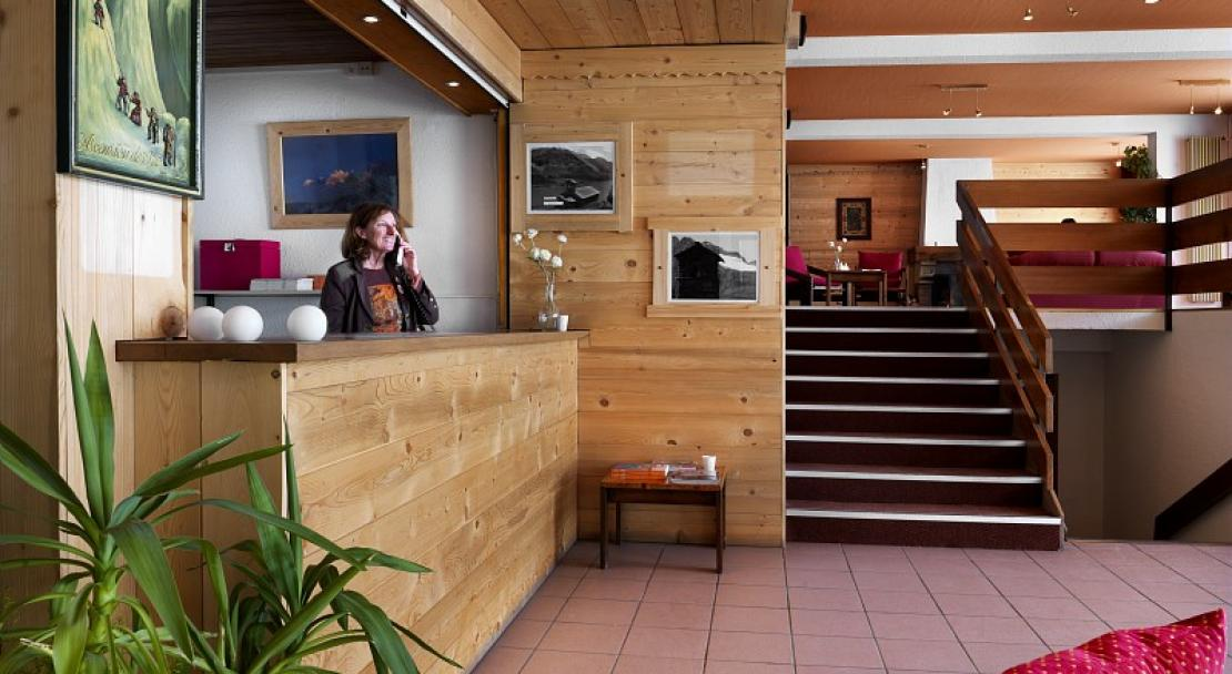 Reception-Le Gypaete-Val Thorens-France