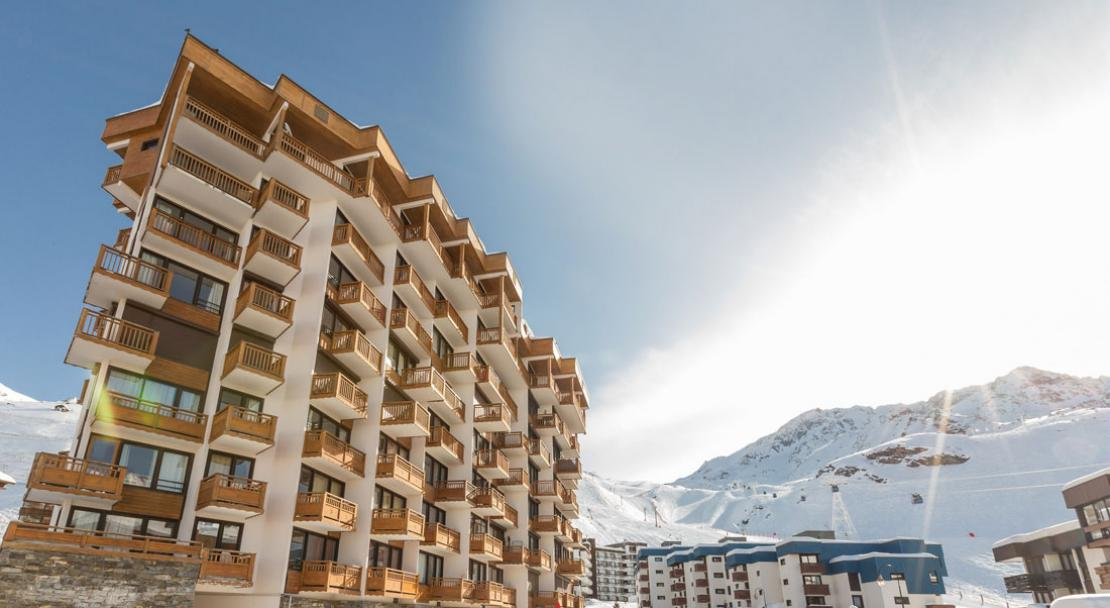 Ski Accommodation an Mountain View-Le Schuss-Val Thorens-France